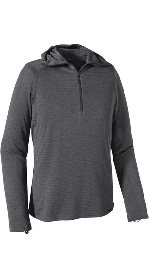 Patagonia M's Capilene Thermal Weight Zip Neck Hoody Forge Grey - Feather Grey X-Dye